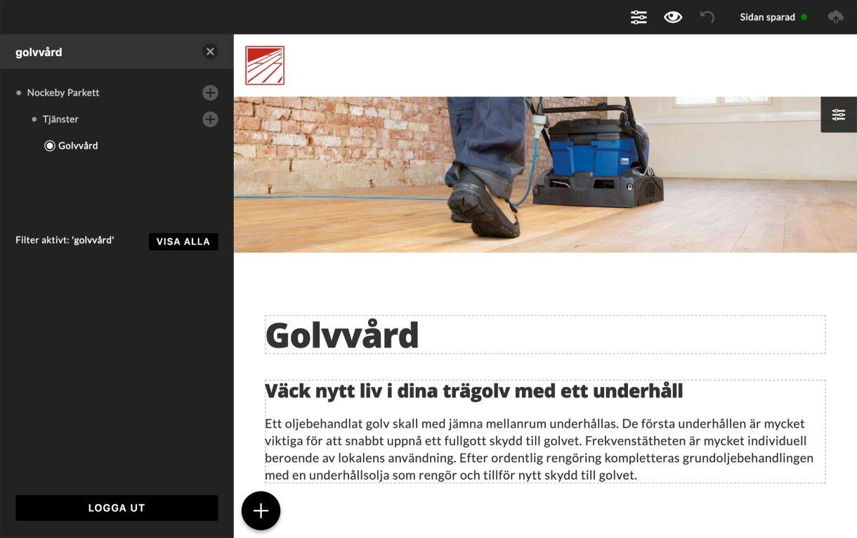Uppdatera hemsidan enkelt med vårt anpassade verktyg